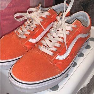 Orange Vans 🍊 (old skool)